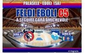 Feldi Eboli, sarà grande domenica. Presentazione show al Palasele con il Pescara