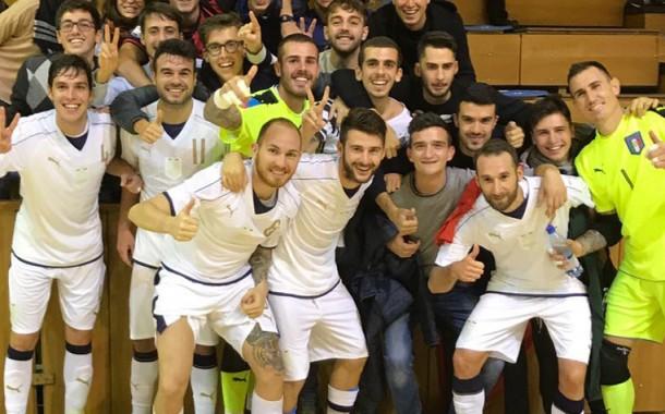 A Trnava l'Italia si riscatta battendo 4-1 la Slovacchia nella Futsal Week