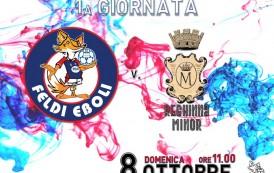 Feldi Eboli, esordio interno con la Reghinna Minor per l'Under 19