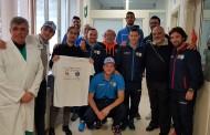 Lollo Caffè Napoli e Cuore Basket Napoli insieme per i bambini dell'Ospedale Santobono