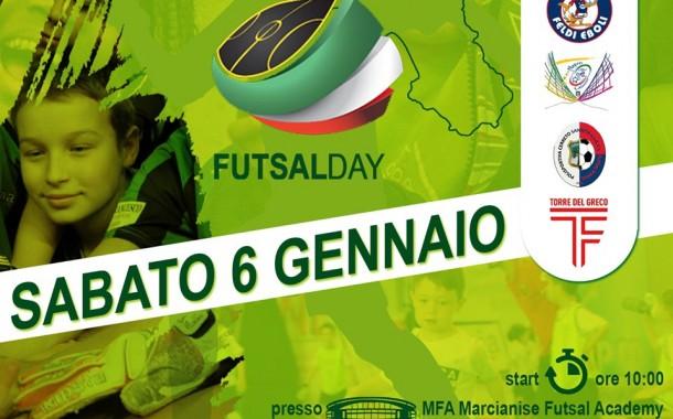 Marcianise capitale del calcio a 5 giovanile: ecco il Futsal Day!