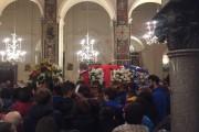 L'ultimo saluto di Amalfi a Fabio Borgese, la commozione del parroco Don Antonio Porpora e di un'intera comunità