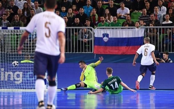 Euro 2018, Italia fuori. A Lubiana, Honorio illude gli Azzurri ma vince la Slovenia che nei quarti sfiderà la Russia