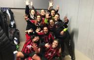 Coppa Campania C2 femminile, ritorno dei quarti di finale: Salernitana Magna Graecia, American Sporting Club, Dinamo Sorrento e Napoli Calcetto alle F4