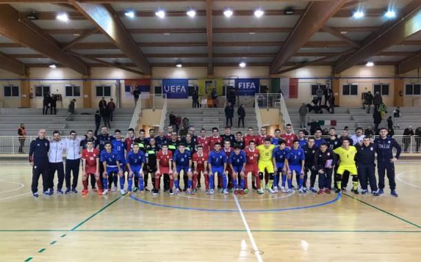 Nazionale Under 19 Futsal. Gli Azzurrini si ripetono: vinta anche la seconda amichevole contro la Serbia