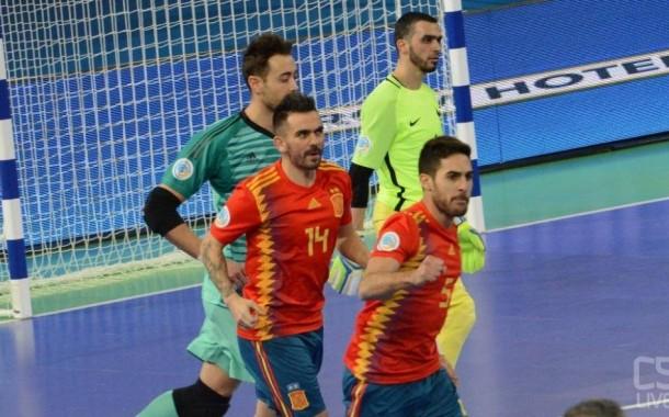 #FutsalEURO, VL evita R10: basta Pola con l'Azerbaigian, Spagna ai quarti