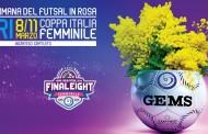 Settimana del futsal in rosa, ecco i sorteggi della Coppa Italia femminile