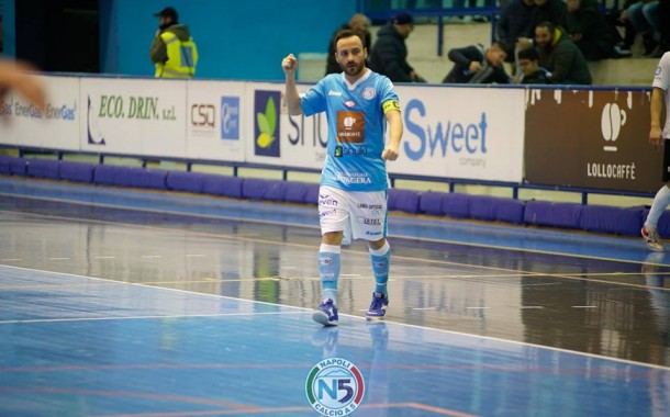 Euro Futsal 2018: De Luca colora d'azzurro l'Italia, ottima prova di Peric