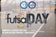 #FutsalDay, tappa a Benevento: domenica 18 marzo alle 9 al PalaValentino Ferrara i futuri campioni del pallone a rimbalzo controllato