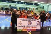 Coppa Campania Juniores: l'arte di arrangiarsi fa le spalle larghe, capitan Gallo piega il Benevento 5 in finale e regala il trofeo al Pomigliano