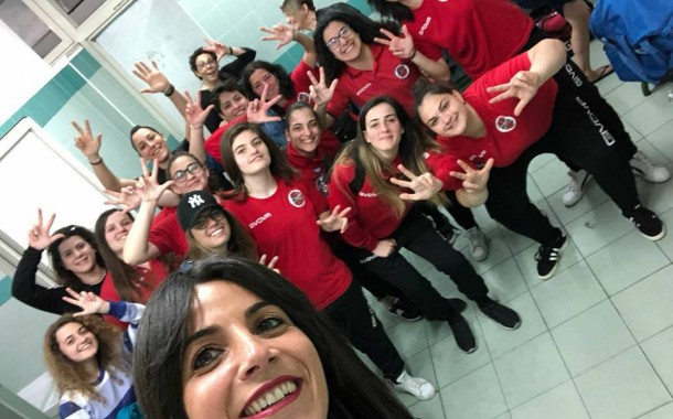 Serie C1 femminile, Cercola porta trofei rossoneri: triplete Nuceria. Bisaccese agli spareggi