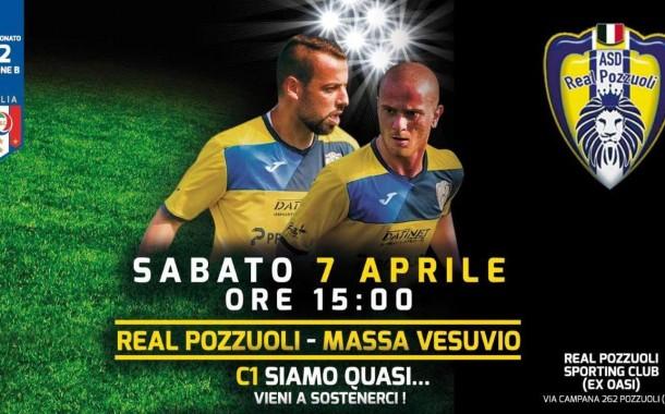 Real Pozzuoli, sabato con il Massa Vesuvio per il sogno C1