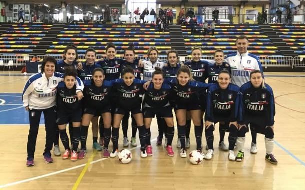 Nazionale Futsal Femminile: il 20 e 21 giugno a Fondi doppia amichevole con l'Ucraina