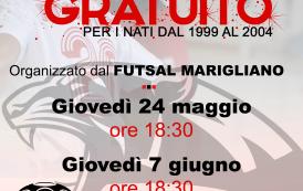 Futsal Marigliano in cerca di giovani pantere, il 24 maggio ed il 7 giugno al PalAliperti per i nati dal '99 al 2004