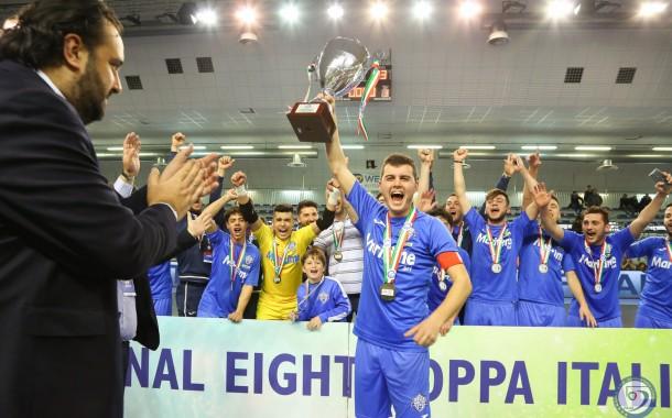 #Under19Futsal, playoff: Fenice-Kaos e Maritime-Olimpus le semi scudetto