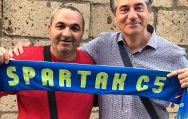 Spartak femminile in C2 con Ciro Russo alla guida: il comunicato