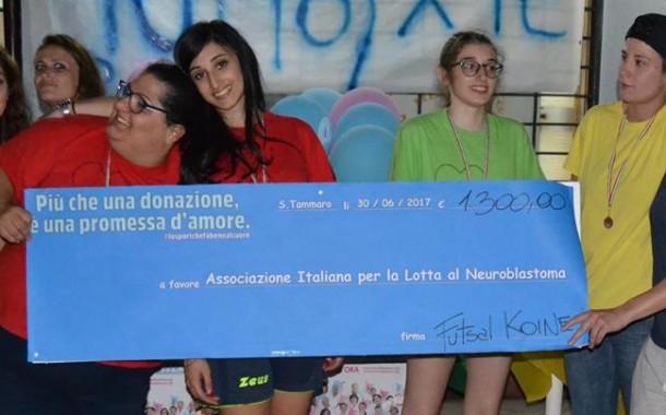 VinciamoNoi 2.0, ancora un successo e una straordinaria raccolta per l'Associazione Italiana per la lotta al Neuroblastoma