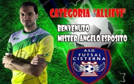 Futsal Cisterna, altro colpo: ecco La Montagna. Angelo Esposito nuovo mister degli allievi
