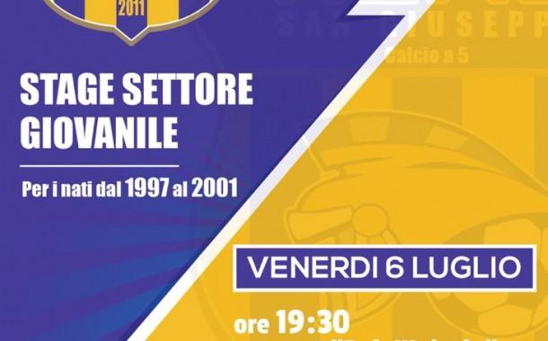 Real San Giuseppe, al via gli stage: venerdì 6 luglio alle 19.30 al Palawojtyla