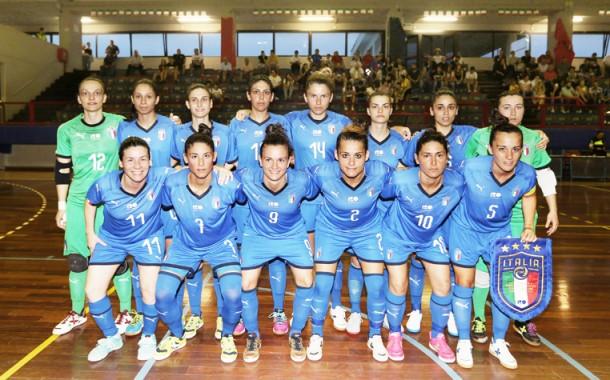 Europeo femminile: l'Italia convoca 17 giocatrici per il raduno di Fondi