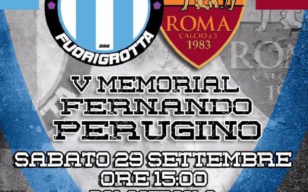 Futsal Fuorigrotta, tutto pronto per il V Memorial Perugino contro la Roma C5