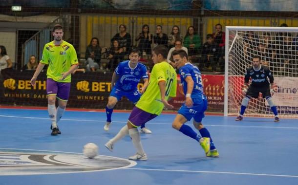 Lollo Caffè Napoli-Maritime Augusta 3-1: prima sconfitta stagionale per gli azzurri