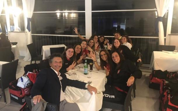 Serie C1 femminile, il punto sulla terza giornata. Sidicina Cremisi inarrestabile. Dinamo Sorrento: altro 4-3, è secondo posto