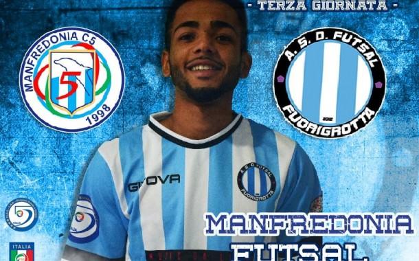 """Futsal Fuorigrotta ospite del Manfredonia per la terza giornata di campionato. Marcio Vinicius: """"Siamo carichi"""""""