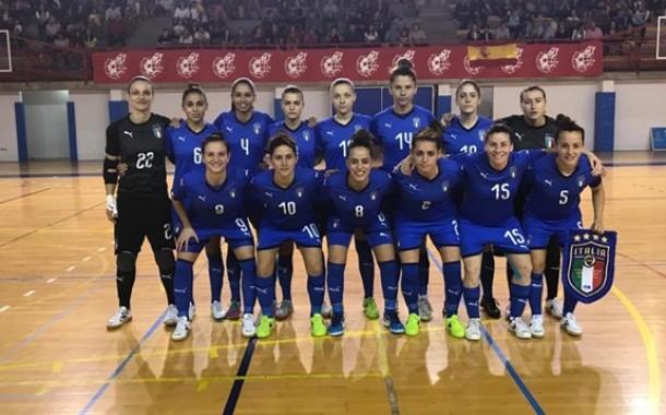 Spagna troppo esperta per le azzurre: kappaò 7-0 nel secondo test a Murcia