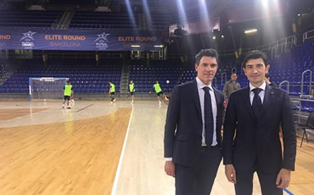 Gli arbitri italiani Galante e Malfer designati a Barcellona per l'Elite Rd