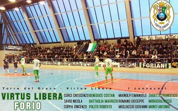 Virtus Libera, impegno in casa del TDG: torna Coppa, out Castaldi. L'U21 fa visita al Chiaiano