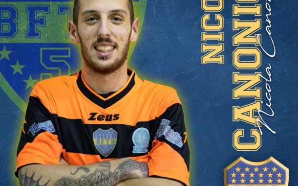 """Boca Futsal, ufficializzato Nicola Canonico: """"Spero di dare un contributo alla causa"""""""