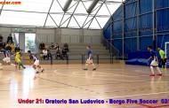Borgo U21 duro a morire con il San Ludovico, in inferiorità Barra evita la sconfitta ad un minuto dal termine