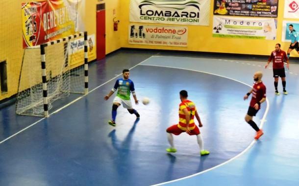 Il Benevento 5 dimentica la Coppa, sette reti al San Marzano