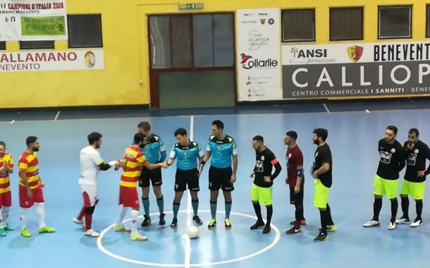Final Eight C1, il Benevento 5 rincorre e caccia la lepre Spartak: tris per Campano e Battista Russo. Semifinale coi Leoni domani alle 20