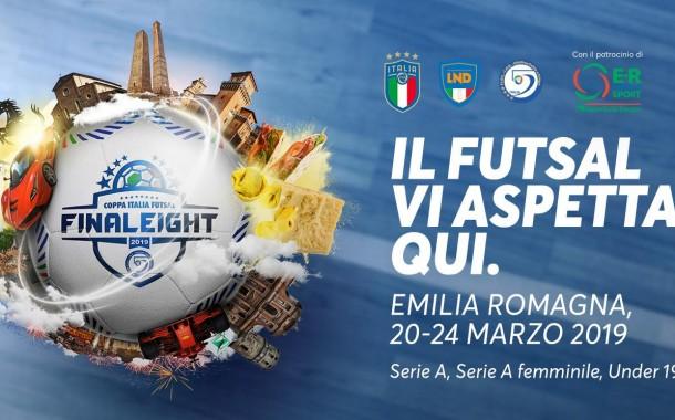 Final Eight 2019, Emilia-Romagna casa del futsal italiano: pronti al via. Alle 18 Napoli-Feldi