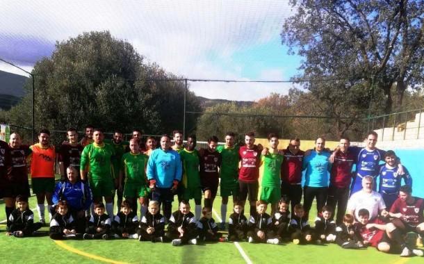 Green Park, successo contro l'Antonio Esposito: terzo tempo con i bambini della scuola calcio, la C2 è ad un passo