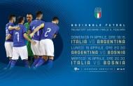 Italia, ad aprile triangolare a Pescara con Argentina e Bosnia: l'amichevole con i campioni del mondo in diretta su RaiSport +HD