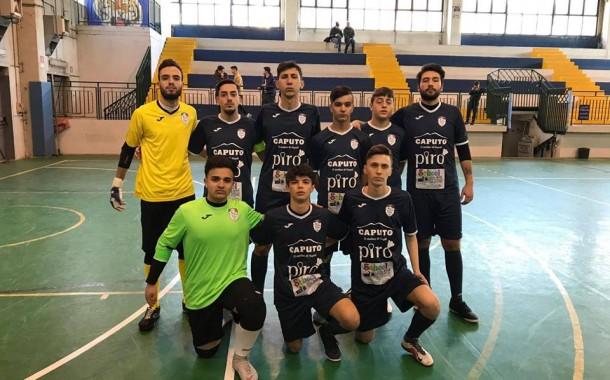 Il Napoli Calcetto U19 ritrova il successo: otto reti alla Cavese