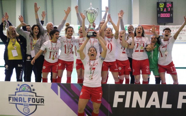 Final Four Coppa Italia C femminile: trionfo Francavilla, Sabina ko 2-4