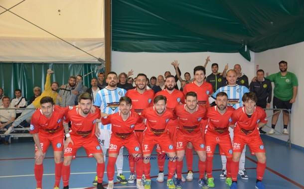 #SerieBFutsal, girone F: i risultati del penultimo turno, Fuorigrotta in A2