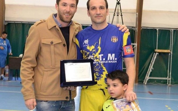Real San Giuseppe, dodicesima vittoria di fila con il Canosa: targa per Mele, sarà ritirata la maglia numero 6