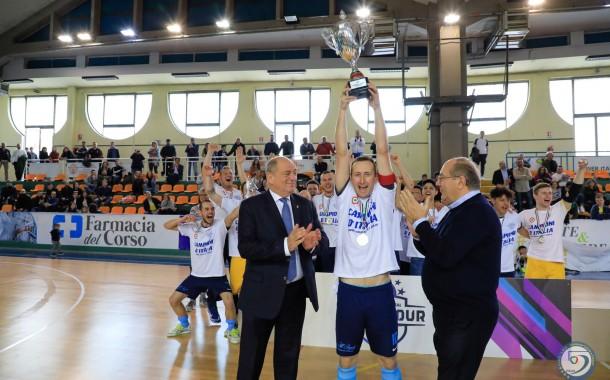 F4 C maschile, storico double per l'A-TEAM Arzignano: 5-0 allo Sporting Venafro
