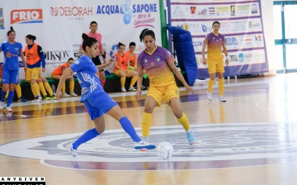 Serie A femminile: Vieira trascina il Kick Off, Salinis sempre a -3. Pari Montesilvano