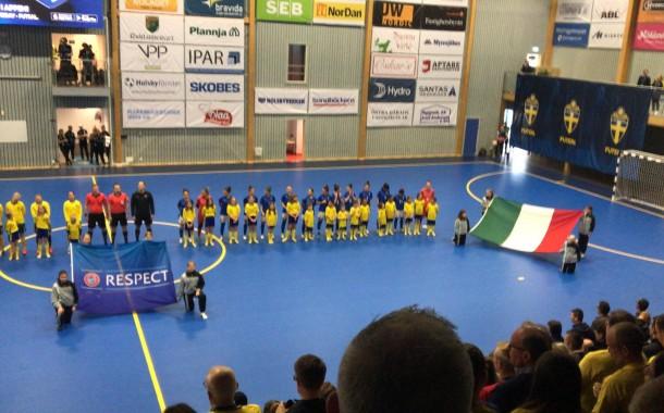 L'Italia femminile battuta 3-2 dalla Svezia nella prima amichevole