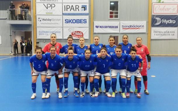 Italia femminile, pronto riscatto: Svezia battuta 9-3 nella seconda amichevole