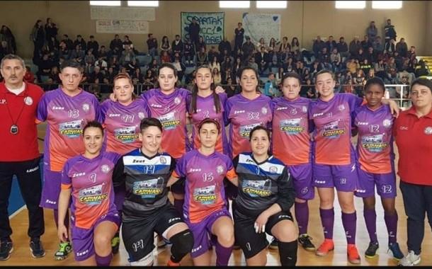 Ore 18, il Palailario si veste ancora a festa per la finale di Coppa C2 femminile. Con le telecamere di Punto5