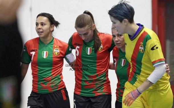 Olimpus retrocessa, Kick Off ok, pari a Terni: lo spettacolo della Serie A Femminile