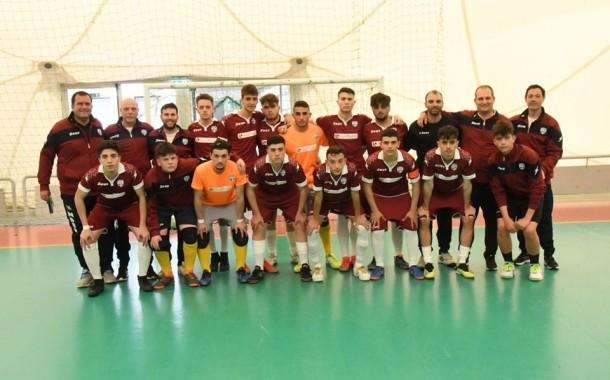 Under 19, fase nazionale. Pozzuoli Futsal Flegrea, esordio da urlo: 10-0 al Putignano