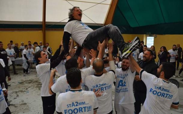 """Futsal Fuorigrotta, il presidente Perugino indica gli obiettivi futuri: """"Lotteremo per la A. No agli stravolgimenti, squadra già competitiva"""""""